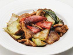 豚肉と野菜の黒酢炒め