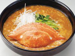 わたり蟹の特製味噌ラーメン 930円(税別)