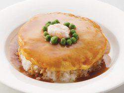 かに玉かけご飯 830円(税別)